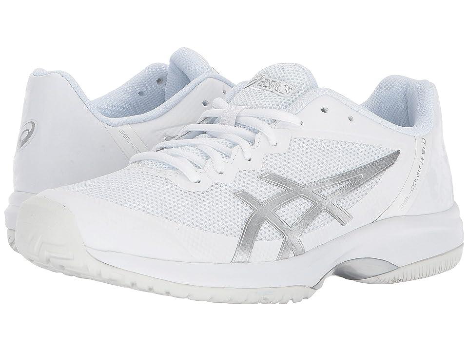 ASICS Gel-Court Speed (White/Silver) Women