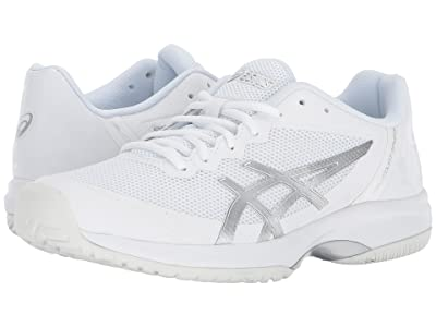 ASICS Gel-Court Speed (White/Silver) Women