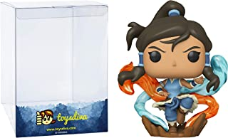 Korra: Funk?o Pop! Animation Vinyl Figure Bundle with 1 Compatible 'ToysDiva' Graphic Protector (761 - 46948 - B)