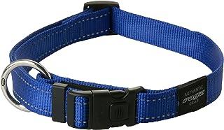 Rogz Reflective Dog Collar, Blue X-Large