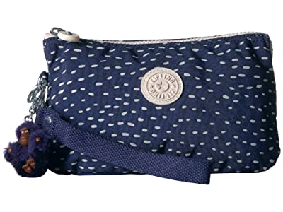Kipling Creativity XL Printed Pouch (Surreal Dot) Clutch Handbags