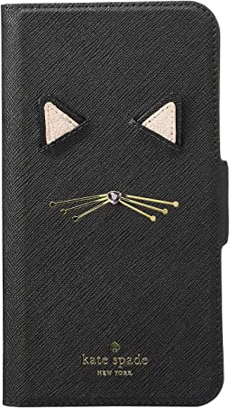 Cat Applique Folio