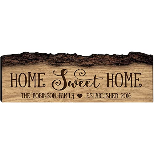 Home Sweet Home Est date Sign//Gift for couple//New Home Gift//Wedding gift plaque