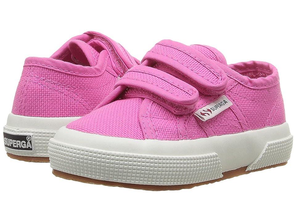 Superga Kids 2750 JVEL Classic (Toddler/Little Kid) (Fuxia) Girls Shoes