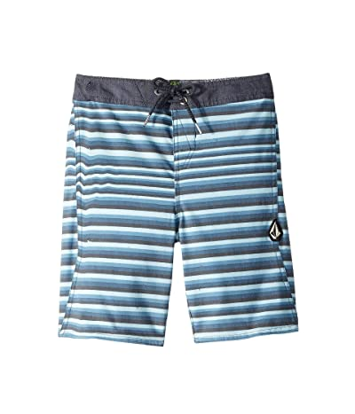 Volcom Kids Aura Boardshorts (Toddler/Little Kids) (Blue Vintage) Boy
