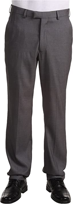 Modern Fit Flat Front Bengaline Pant