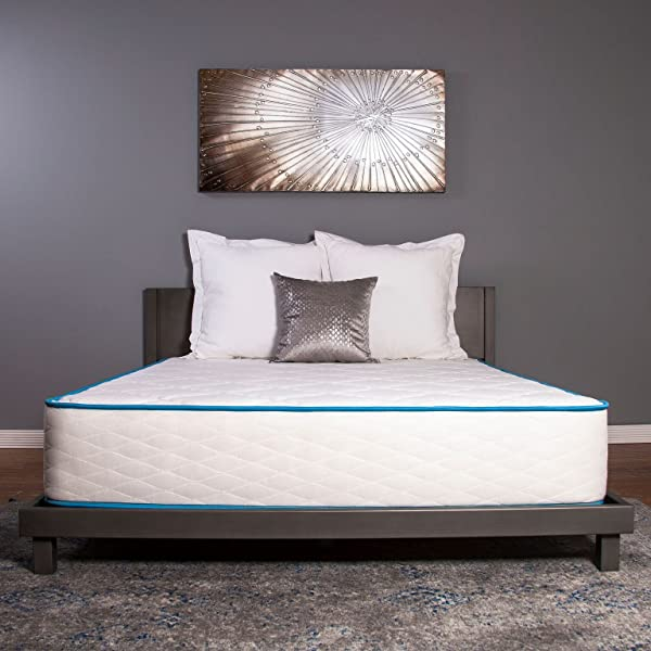 Dreamfoam Bedding Arctic Dreams 10 Inch Cooling Gel Mattress Queen