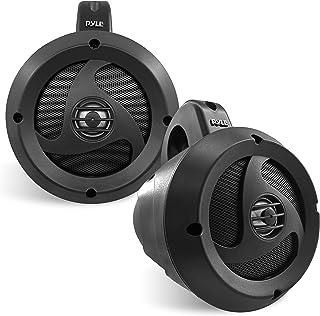 "$160 » Sponsored Ad - 2-Way Waterproof Bluetooth Off-Road Speakers - 4"" 900W Active Passive Marine Grade Wakeboard Tower Speakers..."