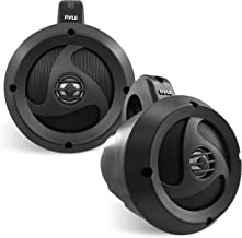 "$161 » Sponsored Ad - 2-Way Waterproof Bluetooth Off-Road Speakers - 4"" 900W Active Passive Marine Grade Wakeboard Tower Speakers..."