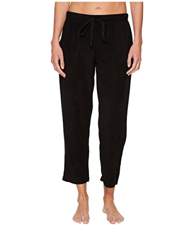 N by Natori Terry Lounge Capris (Black) Women