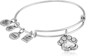 Alex and Ani Charity By Design, Prints of Love Expandable Bangle Bracelet