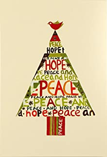 Peace Hope Tree Small Boxed Holiday Cards (Christmas Cards, Holiday Cards, Greeting Cards)