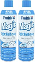 MAGIC Sizing Spray Light Body – No Flaking or Clogging! Light Ironing Spray – 20oz Wrinkle Iron Spray for Clothes (Pack of...
