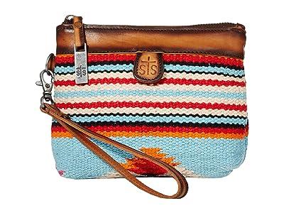 STS Ranchwear Saltillo Essential Bag (Light Blue/Orange/Pink) Bags