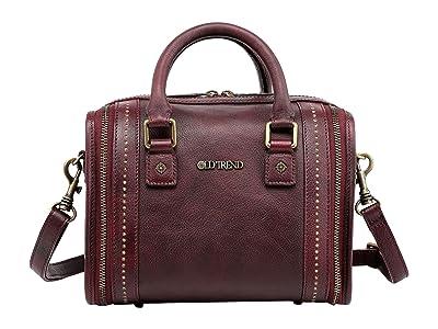 Old Trend Genuine Leather Mini Trunk Crossbody Bag