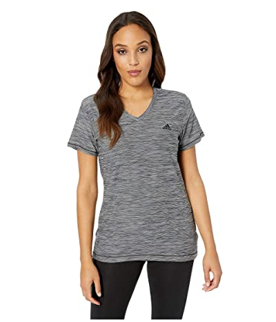 adidas Tech Tee (Black Heather) Women