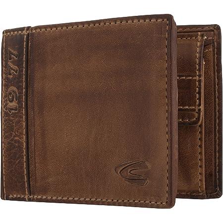 Camel active Vegas Wallet Porte-monnaie Portefeuille Porte-monnaie Marron Brown Messieurs