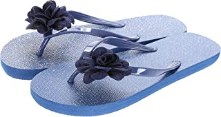 Miniso Women's Flower Flip Flops L 39/40 6941501516192
