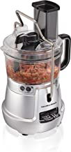 Hamilton Beach Stack & Snap Food Processor 8-Cup with Adjustable Slicing Blade, Built-in Bowl Scraper & Storage Case (70820)