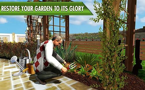 3D Virtual Casa Jardín Juegos Jardinería Scapes Familia Juego Virtual Casa Jardín...