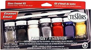 Testors Enamel Paint Set, 9115X, Gloss