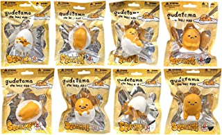 Sanrio Gudetama The lazy egg Squishme Squishy Toys COMPLETE SET OF 8