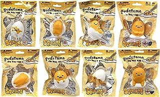 Sanrio Gudetama The lazy egg Squishme Squishy Toys COMPLETE SET OF 8