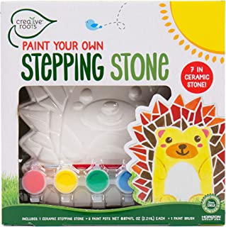 Creative Roots Paint Your Own Hedgehog Stepping Stone by Horizon Group USA Toy, Assorted