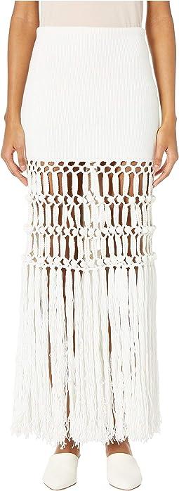 Macramé Maxi Skirt