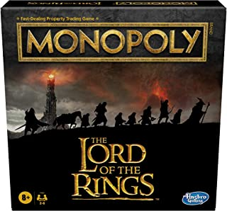 Monopoly: The Lord of the Rings Edition Board Game Inspired by the Movie Trilogy, Play as a Member of the Fellowship, For ...