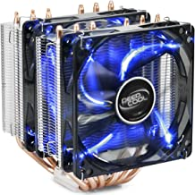 DEEPCOOL CPU Cooler Neptwin V2, 6 Heatpipes, Twin-Tower Heatsinks, Dual 120mm LED Fans,..
