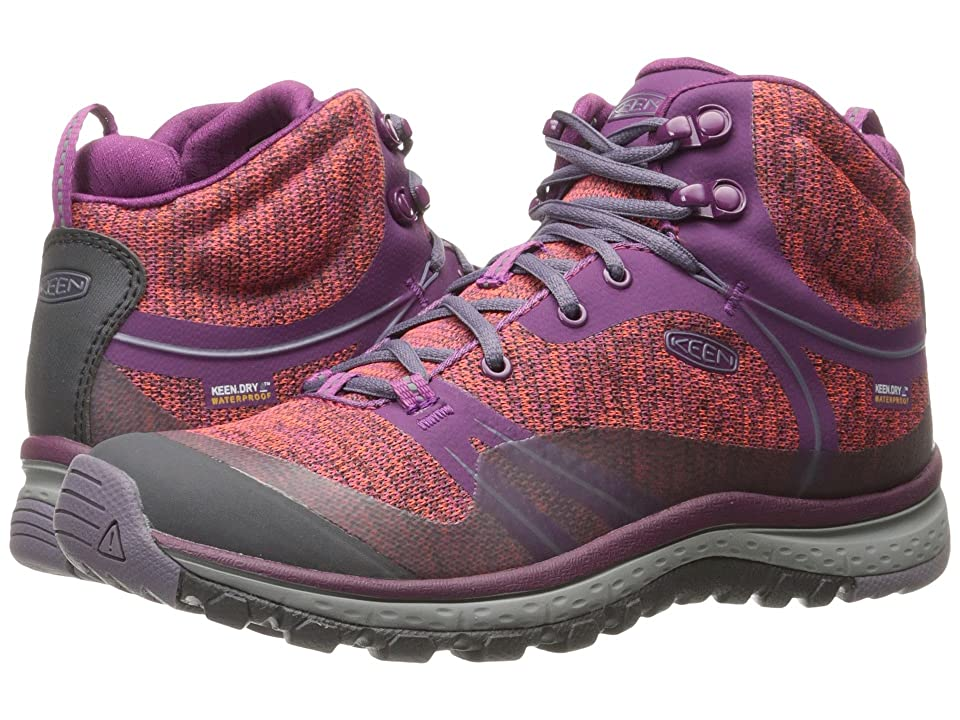 Keen Terradora Mid Waterproof (Dark Purple/Purple Sage) Women