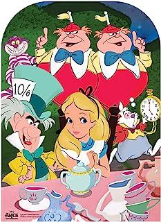 Star Cutouts Ltd Disney Alicia en el País de Las Maravillas de la Fiesta del Té Infantil Recorte de Cartón, Multicolor, 13...