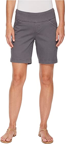 "Jag Jeans Ainsley Pull-On 8"" Shorts in Bay Twill"