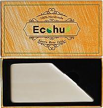 ECOHU Square Bone Folder - Genuine Bone, Paper & Leather Crafts, Card Making, Origami, Bookbinding, Scrapbooking, Non-Scra...