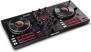 Numark Mixtrack Platinum FX - Controlador DJ para Serato DJ con control de 4 secciones, mezclador DJ, interfaz de audio in...