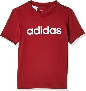 adidas Boy's Youth Boys Essentials Linear T-shirt T-SHIRTS