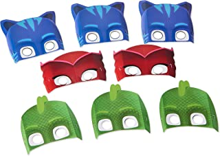 American Greetings PJ Masks Party Masks, 8-Count