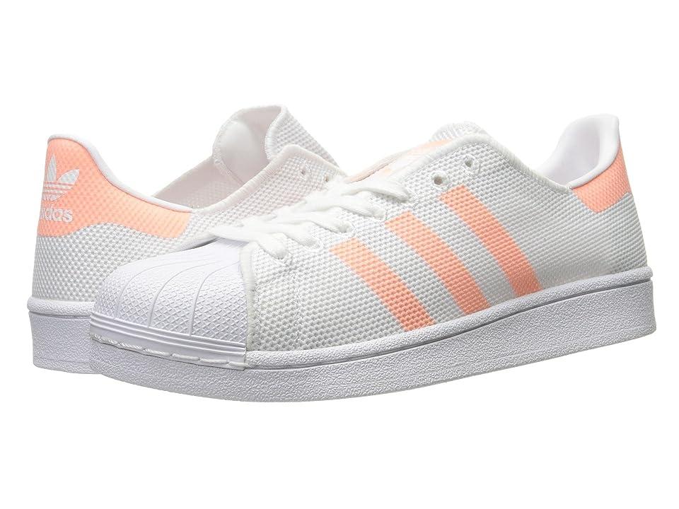 adidas Originals Superstar (Footwear White/Sun Glow S16/Footwear White) Women