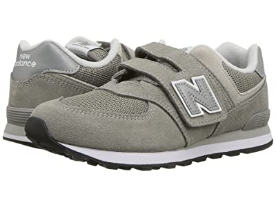 New Balance Kids YV574v1 (Little Kid/Big Kid) (Grey/Grey) Boys Shoes