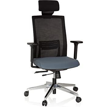 hjh OFFICE 732103 Chaise de Bureau, siège Bureau Captiva