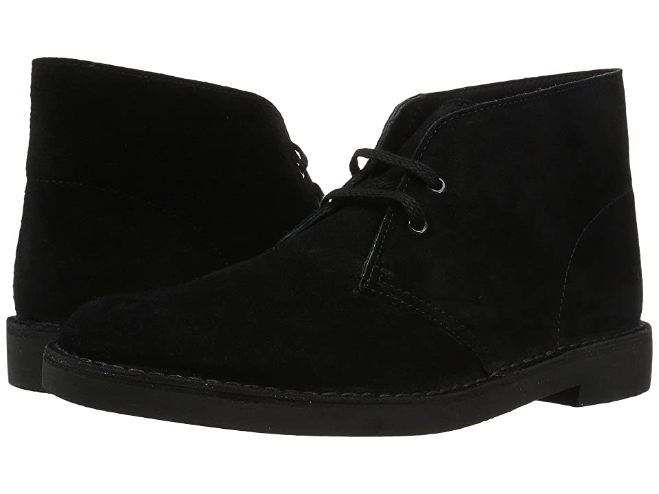 Clarks Bushacre 2 (Black Suede) Men