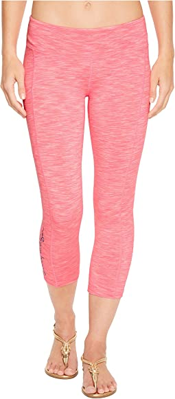 Lilly Pulitzer UPF 50+ Weekender Crop Leggings w/ Pocket