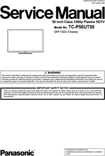 TCP50UT50 TC-P50UT50 service manual