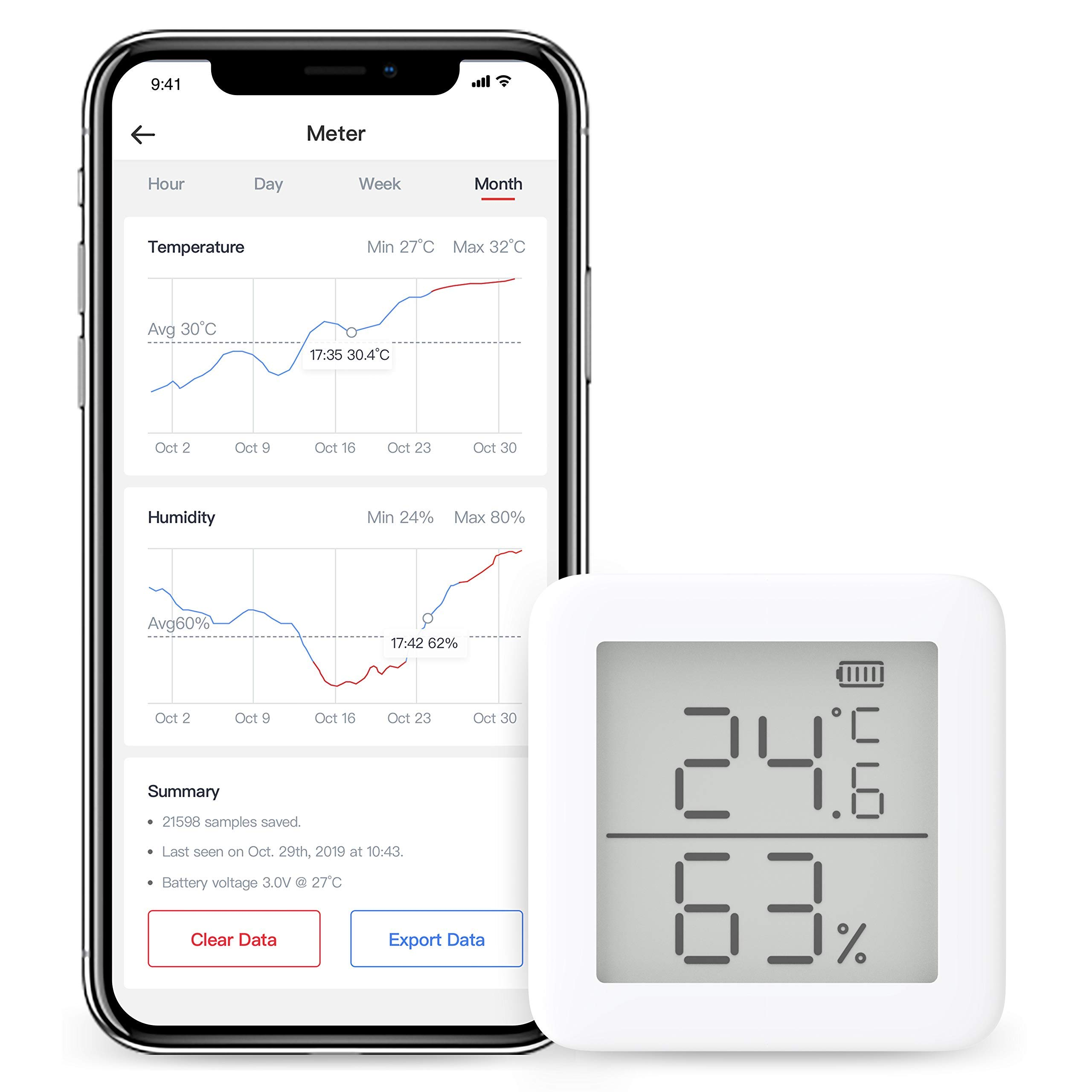 SwitchBot Thermometer Hygrometer Alexa iPhone