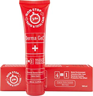 Derma GeL Human Skin Care - Tube 3.4 fl.oz.- 100mL