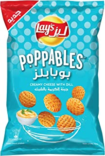 Lays Poppables Cream Cheese Chips, 85 gm