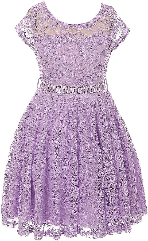 iGirlDress Little Girls Floral Dresses Daily bargain Over item handling ☆ sale sizes2- Lace Flower