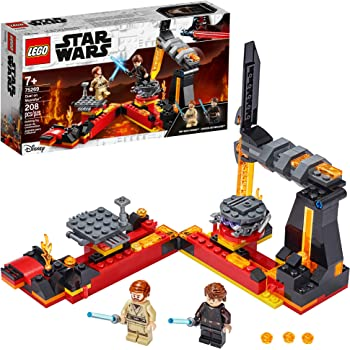 Amazon Com Lego Star Wars Revenge Of The Sith Duel On Mustafar 75269 Anakin Skywalker Vs Obi Wan Kenobi Building Kit New 2020 208 Pieces Toys Games