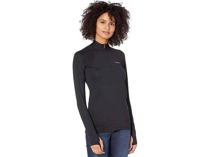 Brooks Womens Essential Long Sleeve 1//2 Zip II Top